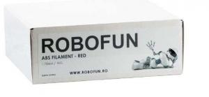 Filament Premium Robofun ABS 1KG  1.75 mm - Rosu2