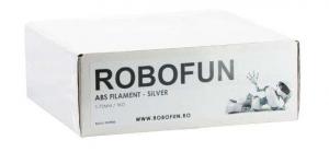 RETRAS Filament Premium Robofun ABS 1KG  1.75 mm - Silver4