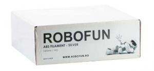 RETRAS Filament Premium Robofun ABS 1KG  3 mm - Silver [8]