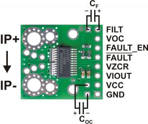 Senzor curent ACS709  -75A +75A2