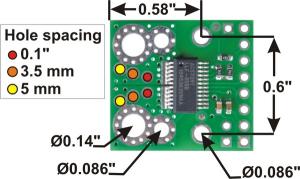 Senzor curent ACS709  -75A +75A3