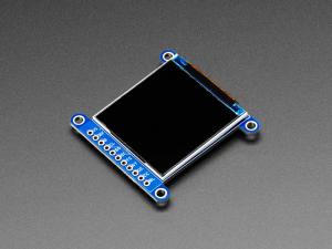 "Display TFT LCD Adafruit ST7789 de 1.54"", 240x240 pixeli,  slot microSD [7]"