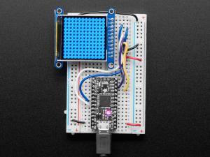 "Display TFT LCD Adafruit ST7789 de 1.54"", 240x240 pixeli,  slot microSD [4]"