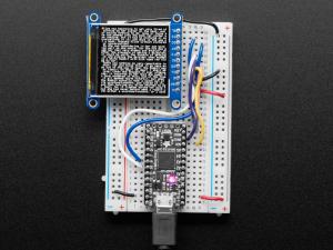 "Display TFT LCD Adafruit ST7789 de 1.54"", 240x240 pixeli,  slot microSD [3]"