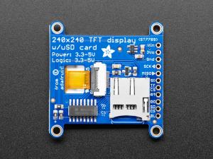 "Display TFT LCD Adafruit ST7789 de 1.54"", 240x240 pixeli,  slot microSD [1]"