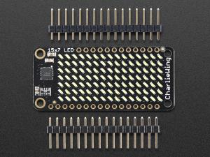 Matrice de LED-uri 15x7 pentru Platformele Feather - Alb2