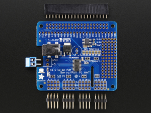 16 Canale PWM / Servo HAT pentru Raspberry Pi - Mini Kit1