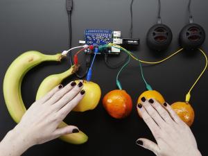 Capacitive Touch HAT pentru Raspberry Pi - Mini Kit - MPR1212