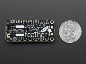Feather 32u4 cu RFM69HCW Radio - 433MHz4
