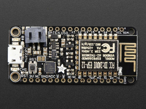 Feather HUZZAH cu ESP8266 WiFi2