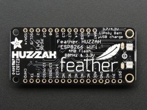 Feather HUZZAH cu ESP8266 WiFi4