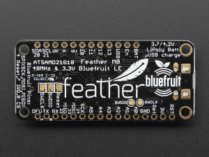 Feather M0 Bluefruit LE Bluetooth4