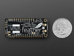 Feather M0 RFM95 Radio - 433MHz LoRA3
