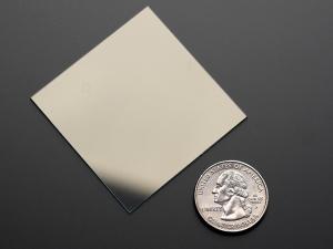Adafruit ITO sticla cu strat de oxid de staniu si indiu - 50 x 50mm [2]