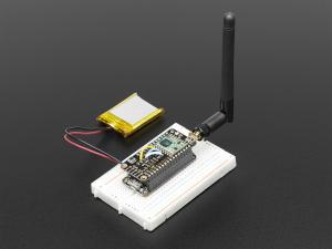 LoRa Radio FeatherWing - RFM95W 433 MHz2