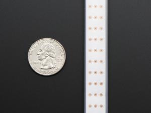 Banda 144 LED-uri RGB NeoPixel - 1m Alb1