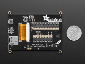 """Adafruit TFT FeatherWing - 3.5"""" 480x320 Touchscreen pentru placile  Feather [4]"""