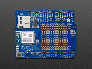 Adafruit WINC1500 WiFi Shield cu antena PCB1