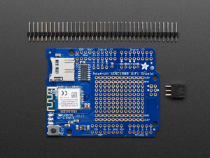 Adafruit WINC1500 WiFi Shield cu antena PCB3