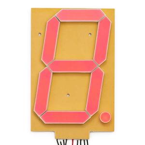 "Afisaj de 6.5"" cu 7 segmente - Rosu [0]"