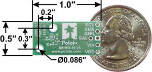 AltIMU-10 v5 Gyro, Accelerometru, Compas si Altimetru1