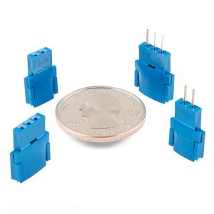 Conector Tata 2 pozitii Clincher Amphenol FCI3