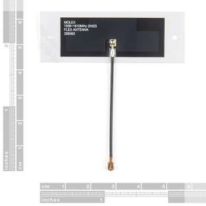 Antena GNSS flexibila Molex [1]