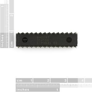 AVR 28 Pin 20MHz 32K 6A/D - ATMega328P2