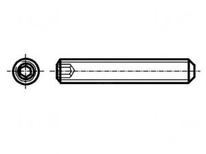 Set surub fara cap, M3 X 10, inbus (10 bucati)0