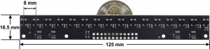 Bara senzori linie 16 digitali QTRX-MD-16RC2