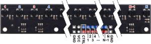 Bara senzori linie 16 digitali QTRX-MD-16RC3