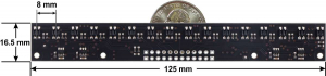 Bara senzori linie analogici 16 QTR-MD-16A [2]