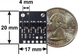 Bara senzori linie digitali 4 QTRX-HD-04RC [3]
