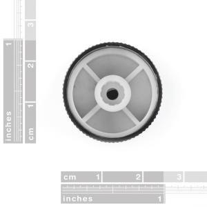 Black Metal Knob - 14x24mm [2]