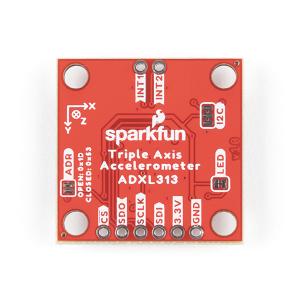 Breakout accelerometru digital, cu 3 axe, SparkFun ADXL3133
