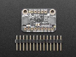 Breakout accelerometru si giroscop Adafruit LSM6DSOX 6 DoF3