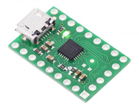 Breakout adaptor USB-la-serial Pololu CP2102N [0]