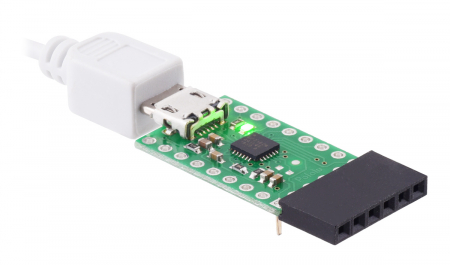 Breakout adaptor USB-la-serial Pololu CP2102N [3]