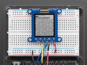 Breakout afisaj LCD SHARP monocromatic, de 1.3 inch, cu memorie [0]