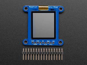 Breakout afisaj LCD SHARP monocromatic, de 1.3 inch, cu memorie [1]