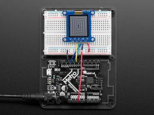 Breakout afisaj LCD SHARP monocromatic, de 1.3 inch, cu memorie [3]