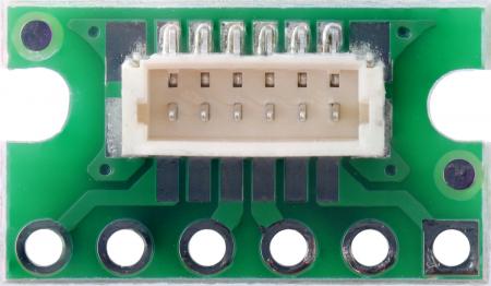 Breakout Pololu conector JST SH, intrare superioara tata cu 6 pini2