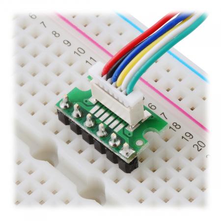 Breakout Pololu conector JST SH, intrare superioara tata cu 6 pini - 3 buc [5]