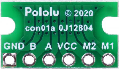 Breakout Pololu conector JST SH, intrare superioara tata cu 6 pini - 3 buc [4]