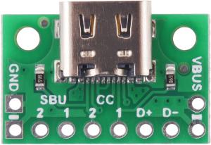 Breakout Pololu conector USB 2.0 tip-C2