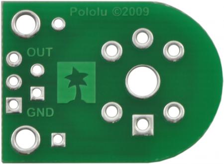 Breakout Pololu pentru senzorii de gaz MQ (doar placa PCB)0