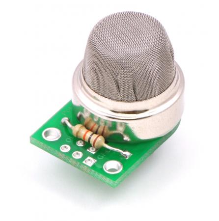 Breakout Pololu pentru senzorii de gaz MQ (doar placa PCB)2