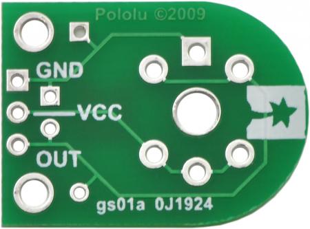 Breakout Pololu pentru senzorii de gaz MQ (doar placa PCB)5