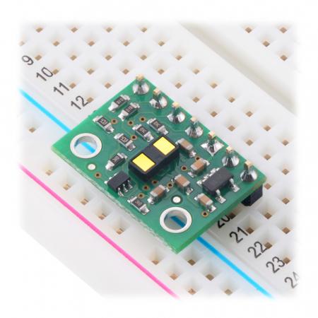 Breakout senzor de distanta Pololu VL53L1X ToF cu stabilizator [3]