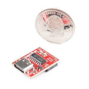 Breakout serial SparkFun cu CH340C si USB-C3